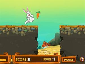 白兔吃萝卜小游戏 白兔吃萝卜在线玩 白兔吃萝卜下载 NOYES小游戏图片