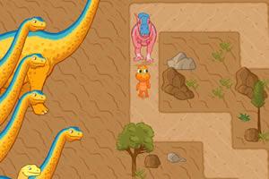小恐龙闯迷宫