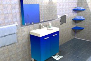 逃出深蓝色浴室