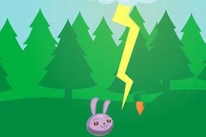 兔子接萝卜