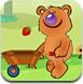 小熊接水果