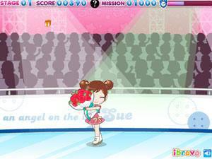 滑冰选手阿Sue