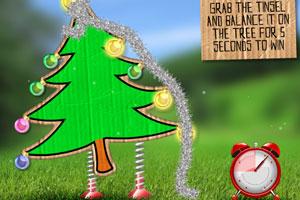 点燃圣诞树
