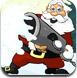 圣诞老人打雪仗