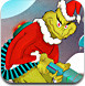 和圣诞老人打雪战
