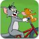 猫和老鼠骑车