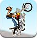 沙漠特技摩托手