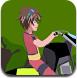 爆丸小子骑摩托车