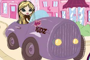 芭芝女孩开赛车