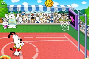 史努比投篮大赛