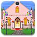 装饰圣诞教堂