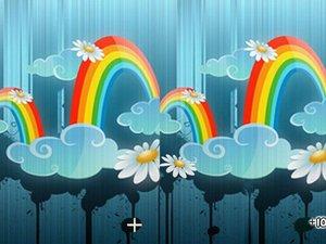 幻色彩虹找不同小游戏 幻色彩虹找不同在线玩 幻色彩虹找不同下载