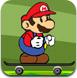 马里奥玩滑板