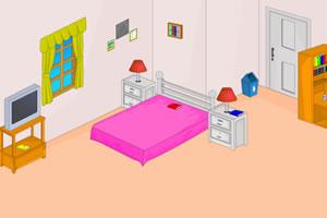 女孩的房间逃生