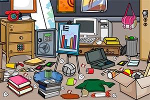 逃离杂乱的房间图片