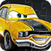 黄色卡通汽车拼图
