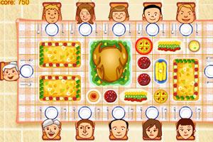 感恩节晚餐对号入座
