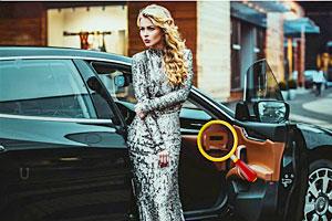 时尚车模找字母