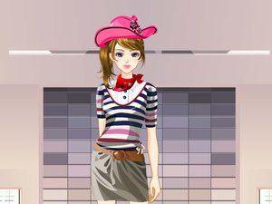 模特时尚装