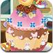 复活节制作的蛋糕