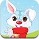 复活节快乐的兔子