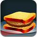 美味的超級漢堡