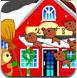 布置圣诞村庄