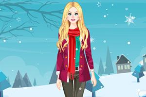 时尚的冬季穿搭