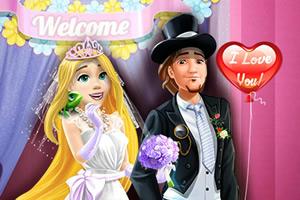 长发公主婚礼派对