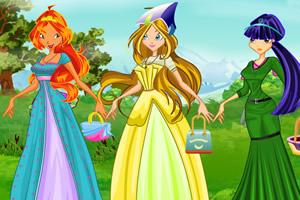 魔法森林的女孩们