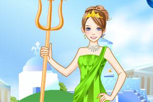 海洋里的公主