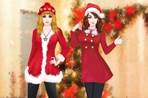 圣诞姐妹装