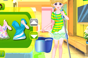 清洁女仆装