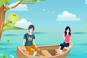 浪漫小木船