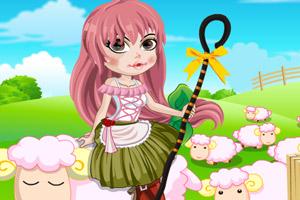 可爱的牧羊女