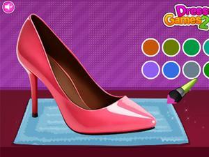 设计时尚高跟鞋